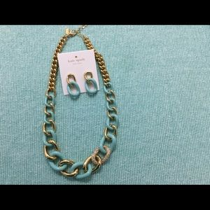 Gorgeous Kate Spade Necklace and Earring Set. NWT